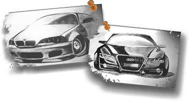 Magnumservice sketch cars